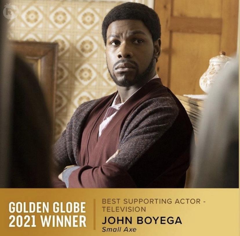 John Boyega wins Golden Globe